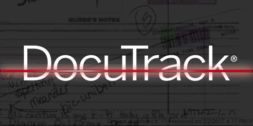 DocuTrack Scan Feature