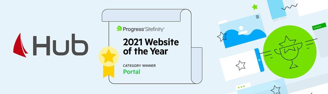 Hub-Sitefinity-Winner-Newsletter