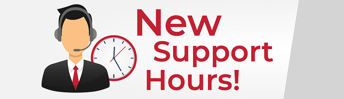 New Support Hours