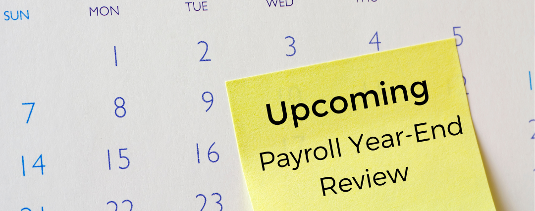 Upcoming Payroll Year-End Review