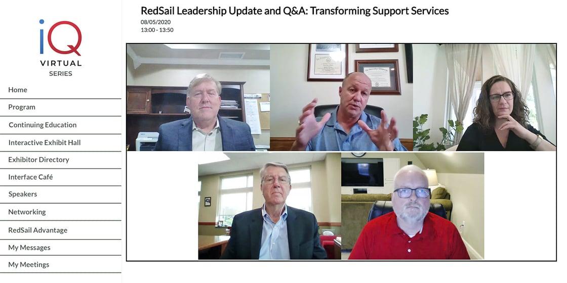 iQ Virtual Series: RedSail Leadership Update